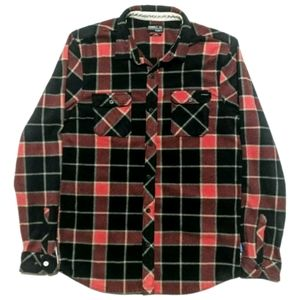 Other - Oneill Mens L Long Sleeve Black Snap Flannel Shirt